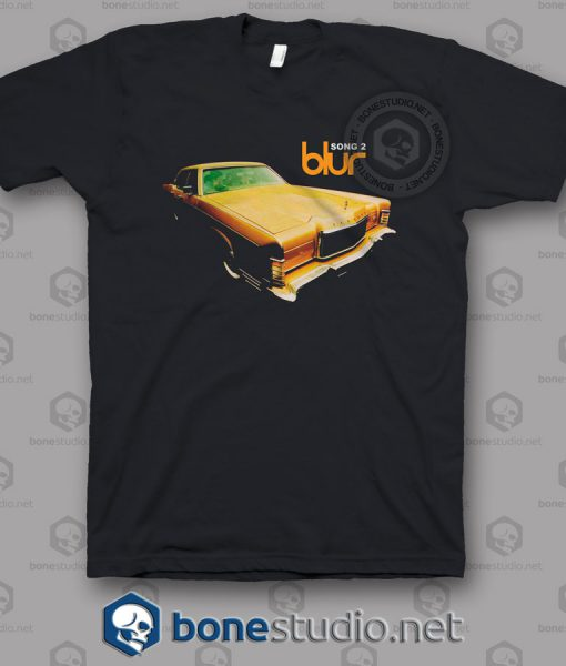 Blur Song 2 Band T Shirt
