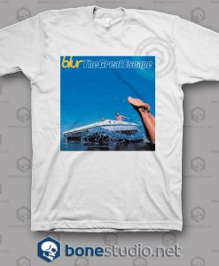 Blur The Great Escape Band T Shirt