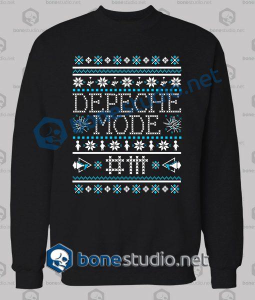 Depeche Mode Band Ugly Sweater Christmas Sweatshirt
