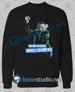 Depeche Mode Dave Gahan Soul Saver Sweatshirt