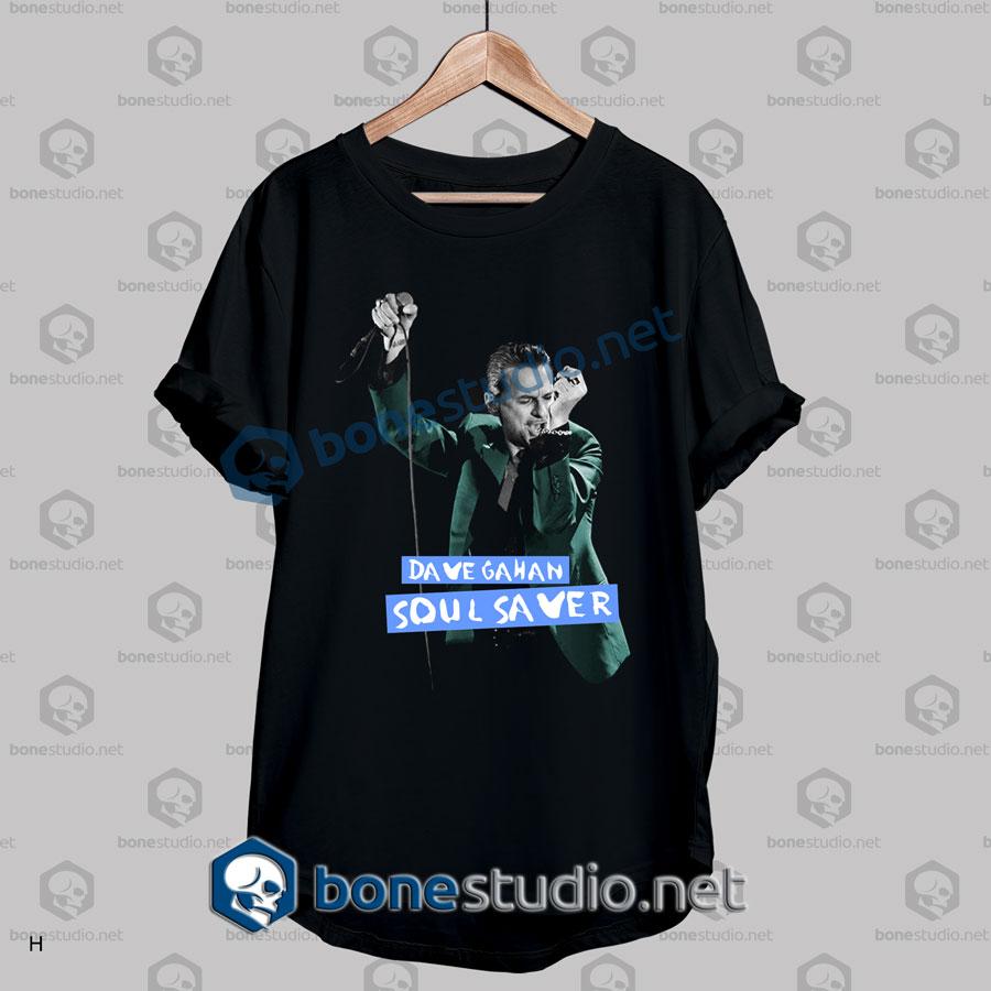 Depeche Mode Dave Gahan Soul Saver T Shirt