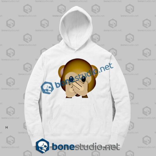 Forever 3d Monkeys Emoji Funny Hoodies