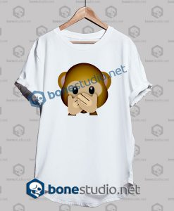 Forever 3d Monkeys Emoji Funny T Shirt