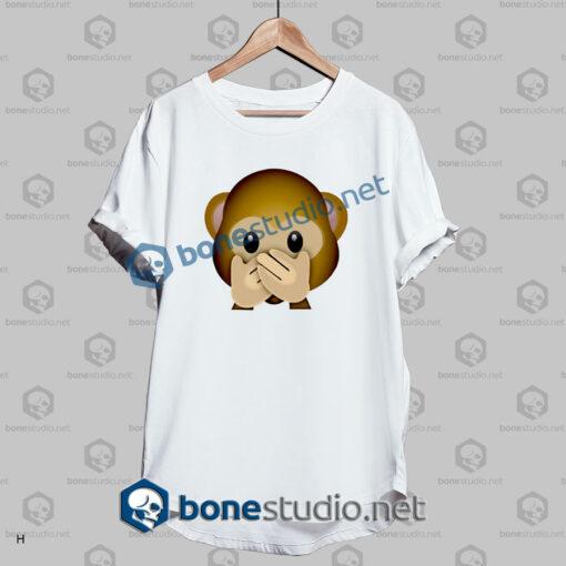 Forever 3d Monkeys Emoji Funny T Shirt