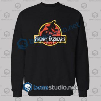 Freddy Fazbear's Jurassic Park Funny Sweatshirt