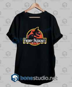 Freddy Fazbear's Jurassic Park Funny T Shirt