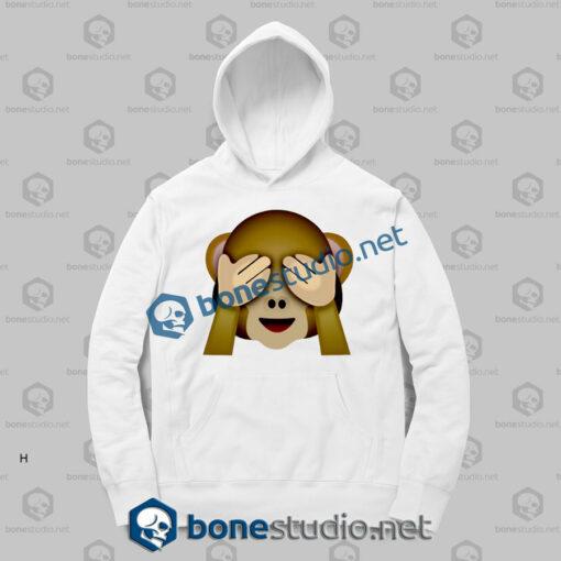 Friends 3d Monkeys Emoji Funny Hoodies
