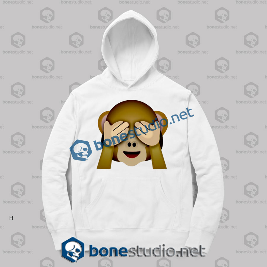 Friends 3d Monkeys Emoji Funny Hoodies