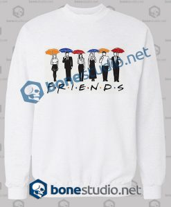 Friends Umbrella Design Sweatshirt