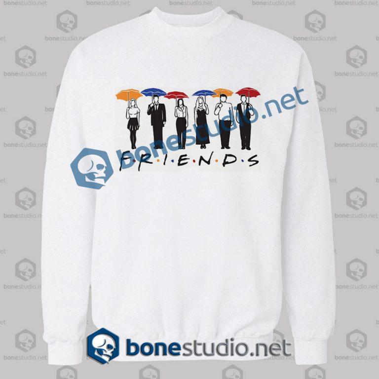 Friends Umbrella Design Sweatshirt