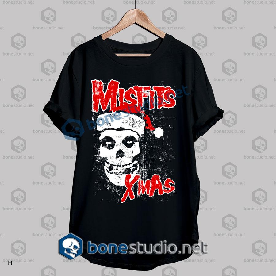 halloween misfits xmas funny t shirt