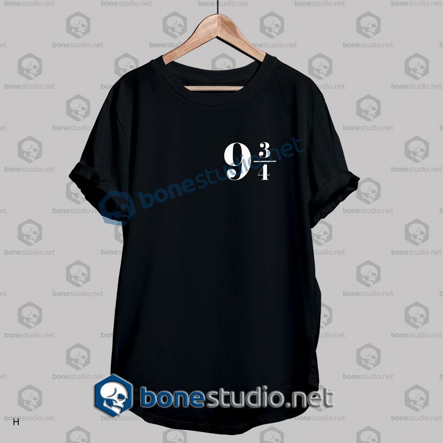 harry potter 9 34 hogwarts platform licensed t shirt