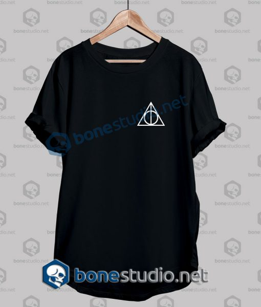 Harry Potter Deathly Hallows Pocket T Shirt