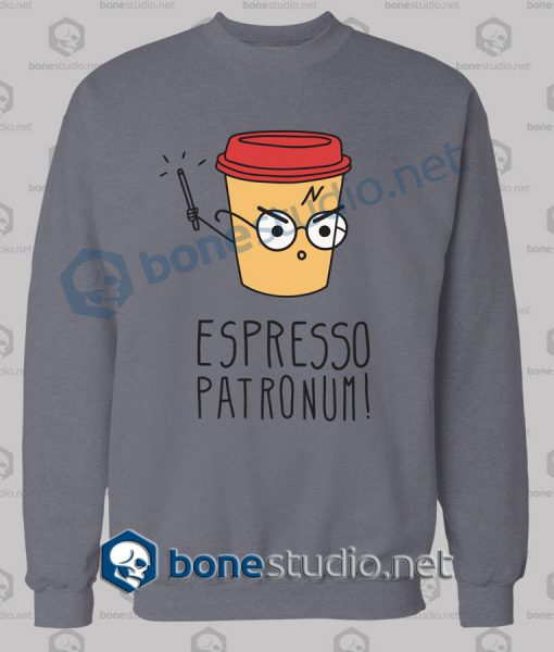 Harry Potter Espresso Patronum Funny Sweatshirt