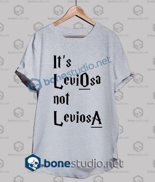 Harry Potter It's Leviosa Not Leviosa T Shirt