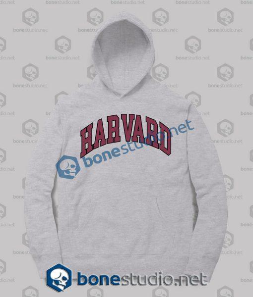 Harvard College Block Hoodies