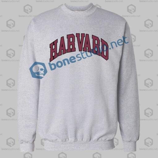 Harvard College Block Sweatshirt