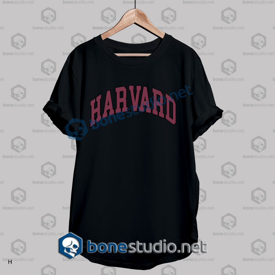 Harvard College Block T Shirt