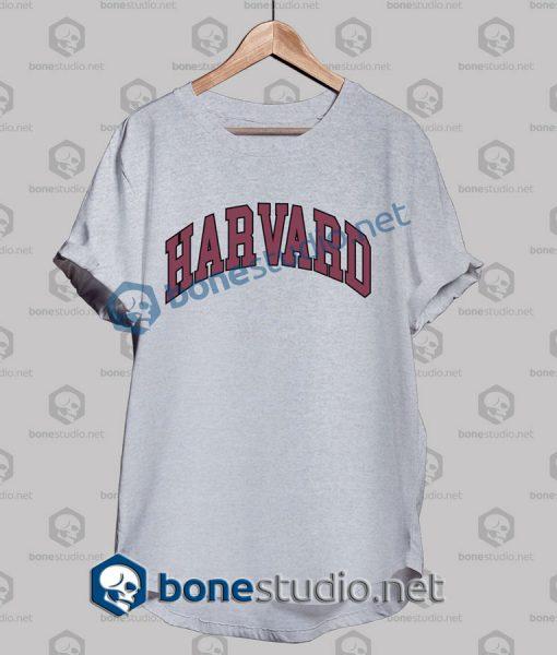 Harvard College Block T Shirt