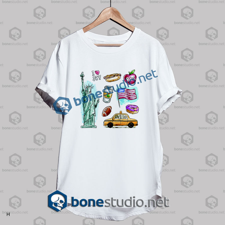 I Love New York T Shirt