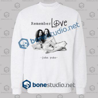 John Lennon And Yoko Quote T Shirt