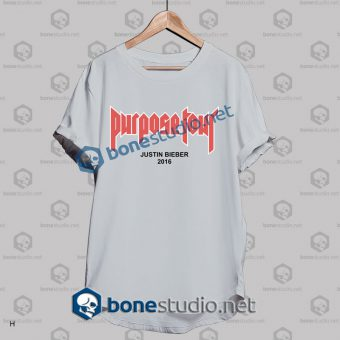 Justin Bieber Purpose Tour 2016 T Shirt