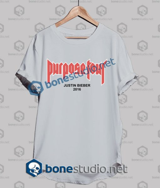 Justin Bieber Purpose Tour 2016 T Shirt