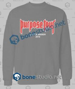 Justin Bieber Purpose Tour 2016 Sweatshirt