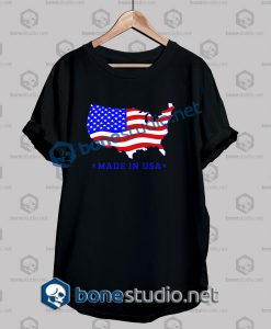 Map Made In Usa T Shirt