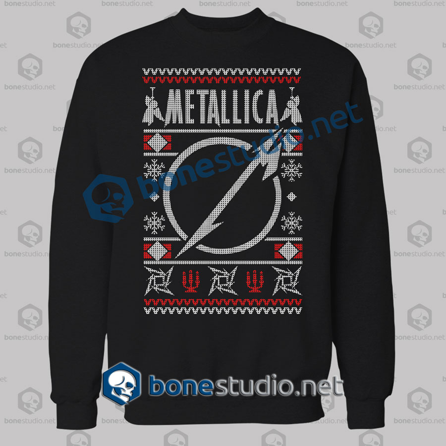metallica ugly sweater sweatshirtmetallica ugly sweater christmas sweatshirtmetallicametallica ugly sweater - Metallica Christmas Sweater