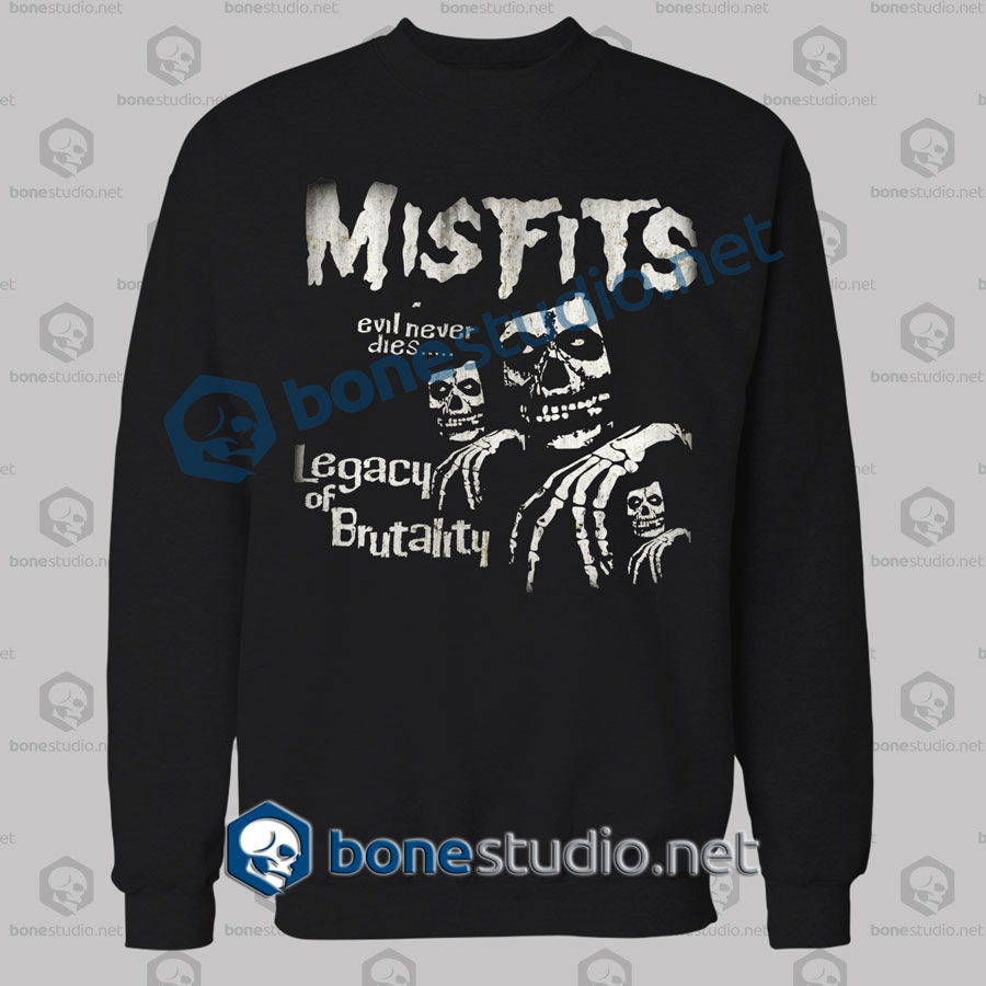 Misfits Legacy Of Brutality Band Sweatshirt