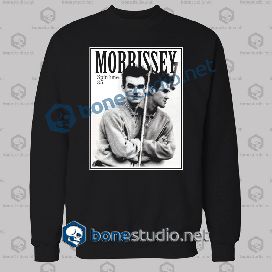 Morrissey Spinjune 85 Band Sweatshirt