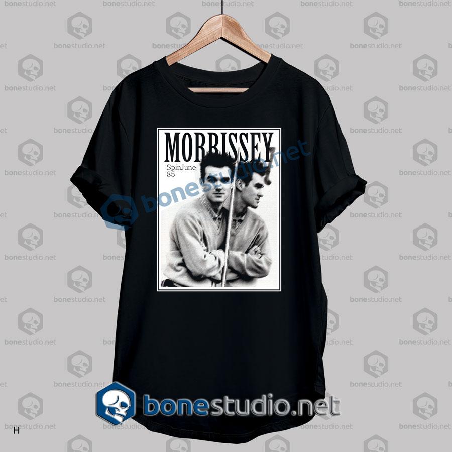 Morrissey Spinjune 85 Band T Shirt