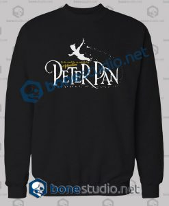 Peter Pan Quote Sweatshirt