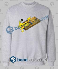 Pokemon Pikachu Mouse Trap Funny SweatShirt