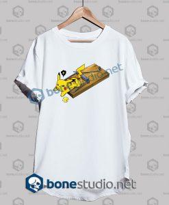 Pokemon Pikachu Mouse Trap Funny T Shirt
