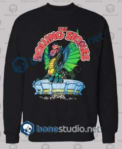 Rolling Stones Dragon Band Sweatshirt