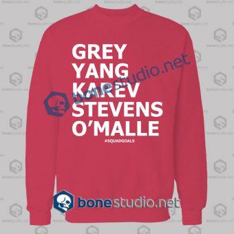 squad goals gossip girls sweatshirt