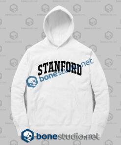 stanford athletic hoodies white