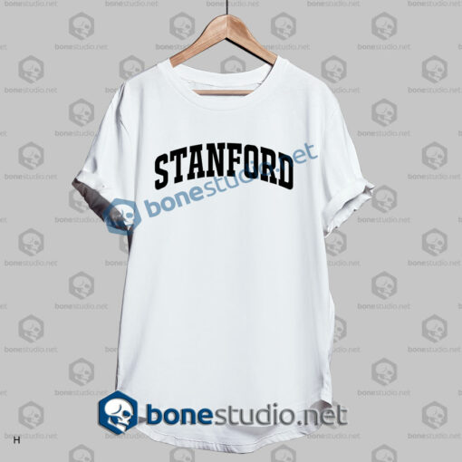 stanford athletic t shirt white