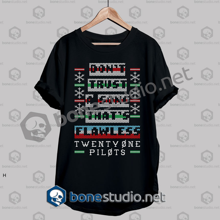 Twenty One Pilots Clique Quote Christmas Ugly Sweater T Shirt