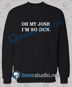Twenty One Pilots Oh My Josh Band Sweatshirt