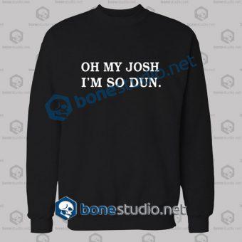 Twenty One Pilots Oh My Josh Band Sweatshirt