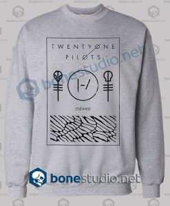Twenty One Pilots Thin Line Box Sweatshirt
