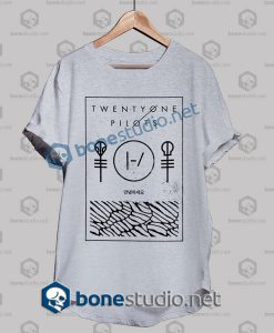 Twenty One Pilots Thin Line Box Band T Shirt