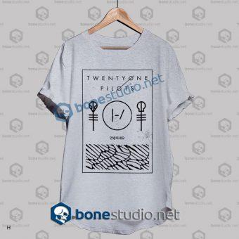 Twenty One Pilots Thin Line Box Band T Shirt