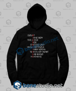 twenty one pilots typography quote hoodies