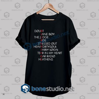 Twenty One Pilots Typography Quote T Shirt
