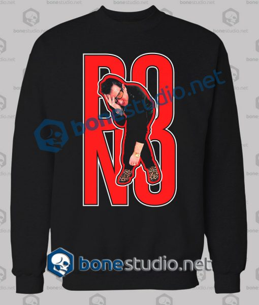 U2 Bono Expression Band Sweatshirt