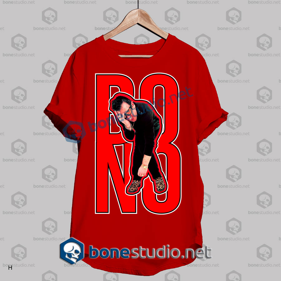 U2 Bono Expression Band T Shirt